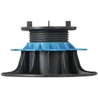 Plot PVC réglable 80/140 mm pour lame de terrasse bois