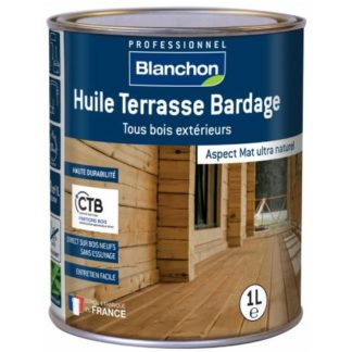 Blanchon Huile Terrasse Bardage La Rochelle