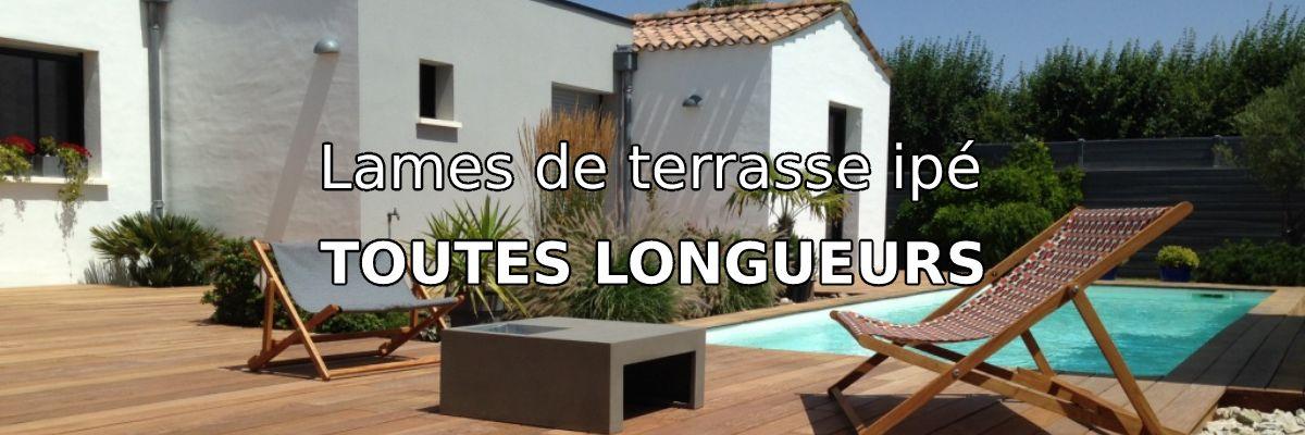 Lames de terrasse ipé La Rochelle