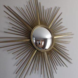 Grand miroir oeil de sorcière