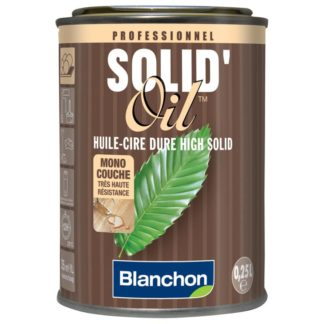 Huile dure Solid oil 0,25L