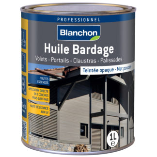 Huile bardage opaque 1L